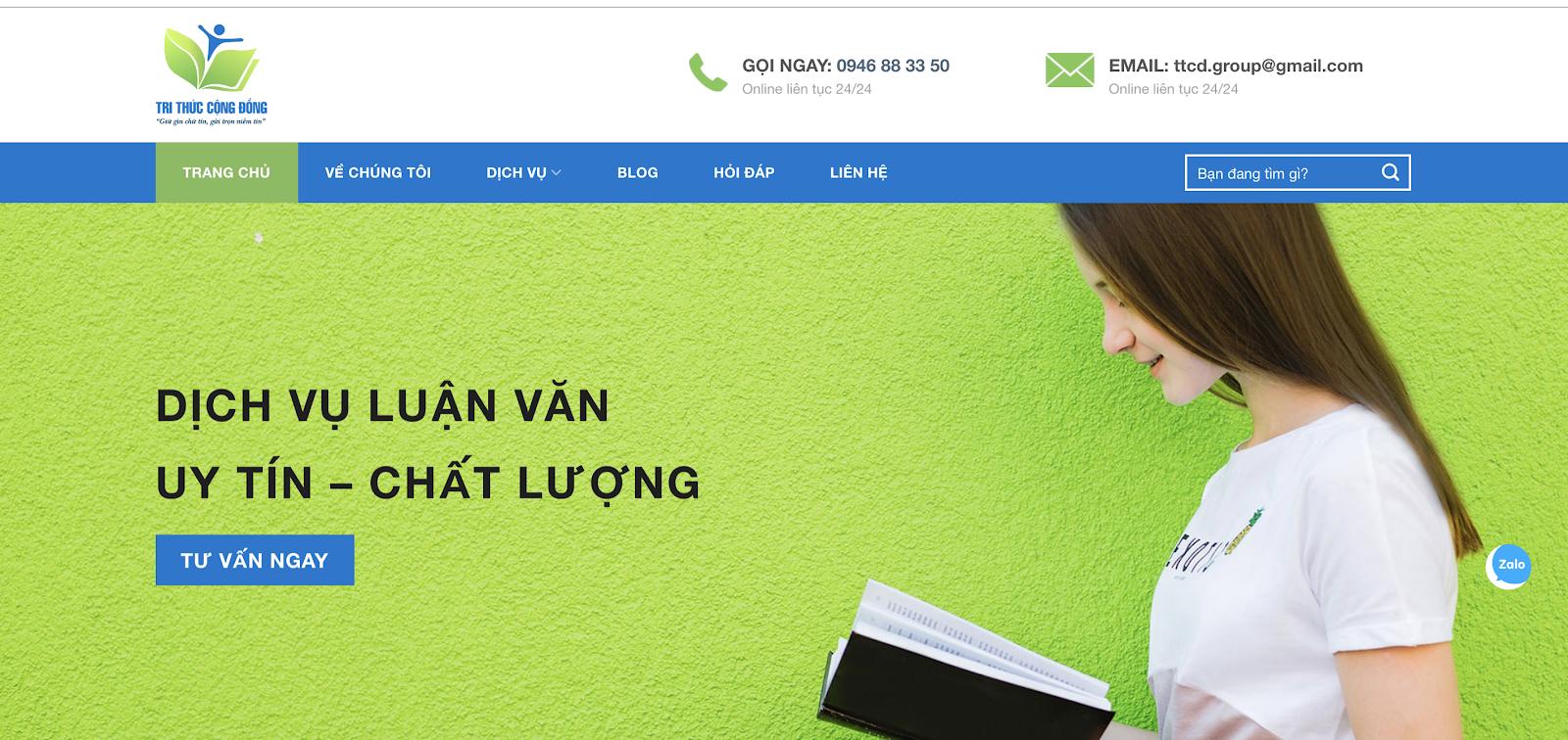 Trithuccongdong.com