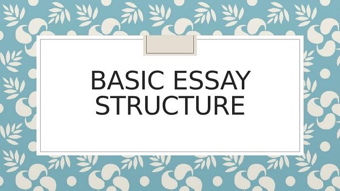 Cấu trúc bài essay điển hình