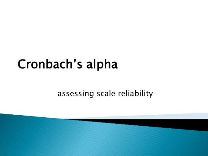 Cronbach Alpha là gì?