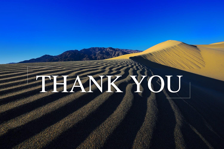 Mẫu slide cảm ơn đẹp và chuyên nghiệp