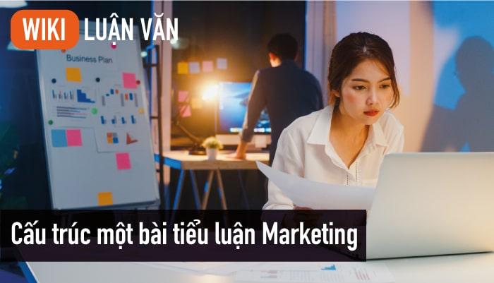 Cấu trúc một bài tiểu luận Marketing