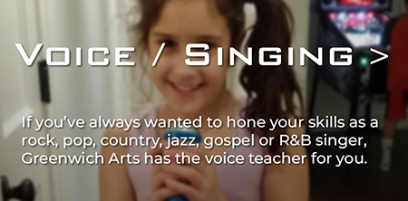 Jane studies voice and singing at Greenwich Arts Academy