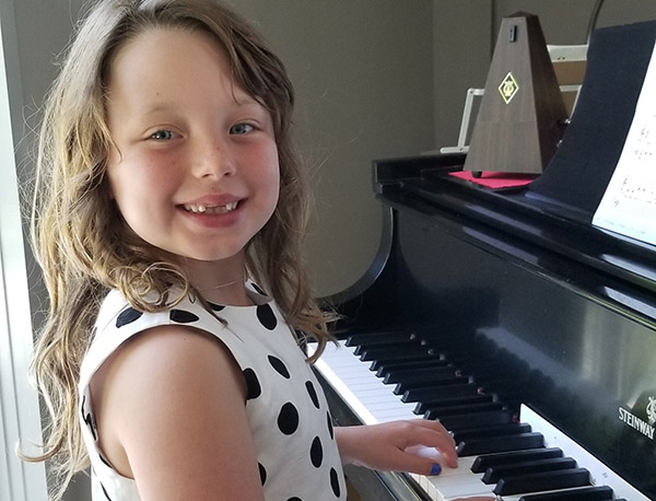 Everyone loves learning piano at Greenwich Arts Academy