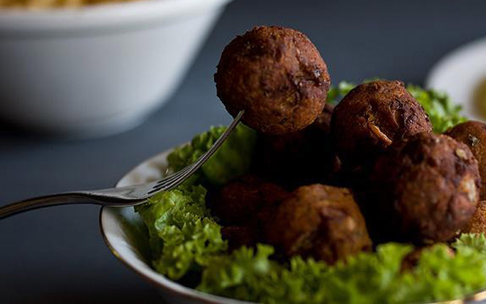 Yiayia's recipe for meatless Greek Meatballs (keftedes)