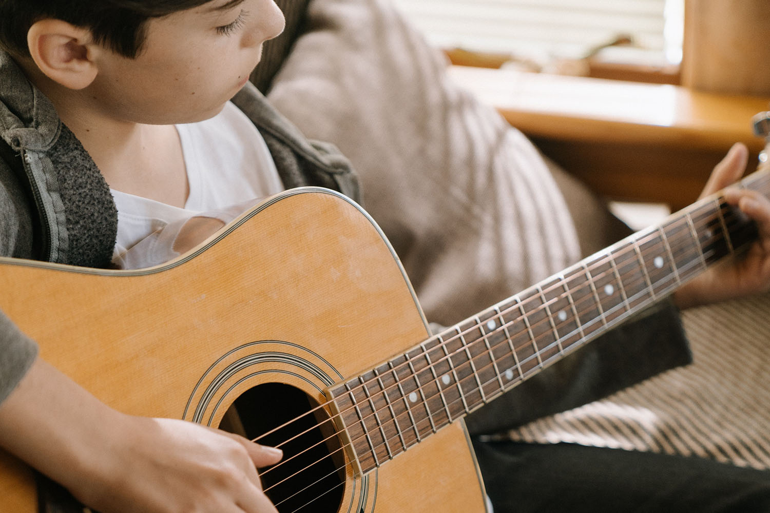 Guitar lessons rock at Greenwich Arts Academy