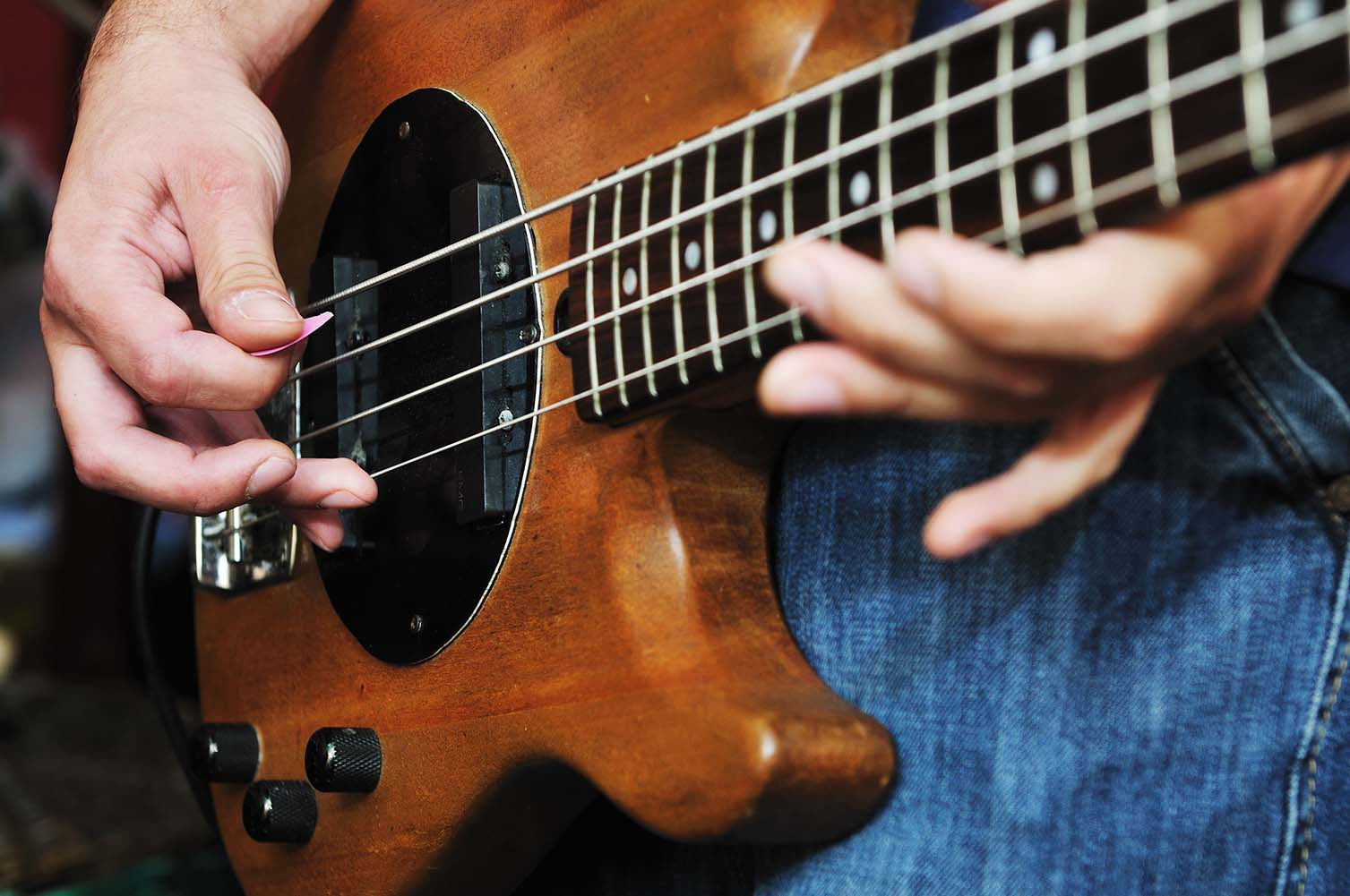 Bass lessons rock at Greenwich Arts Academy