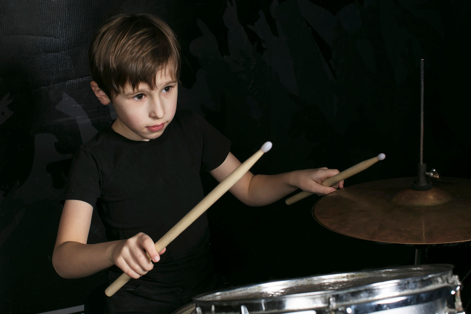 Drum lessons rock at Greenwich Arts Academy
