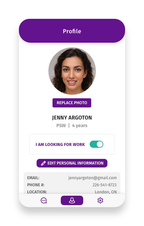 Image of Candidate Profile
