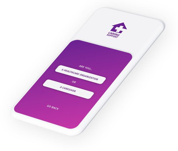 create account on mobile screen