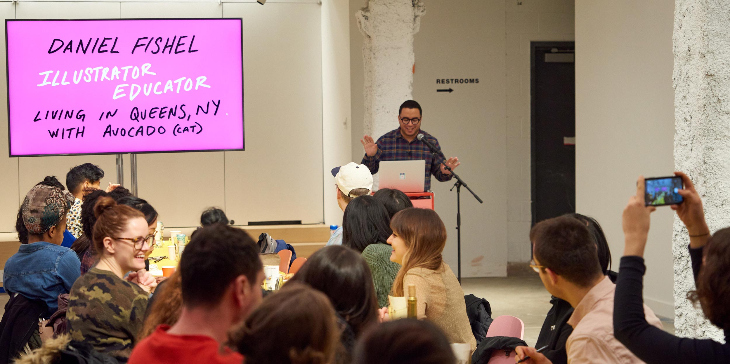 Daniel Fishel, Host, D&D #16, 2019