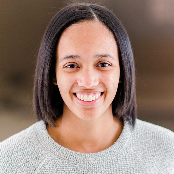 A photograph of Nicole Ellis
