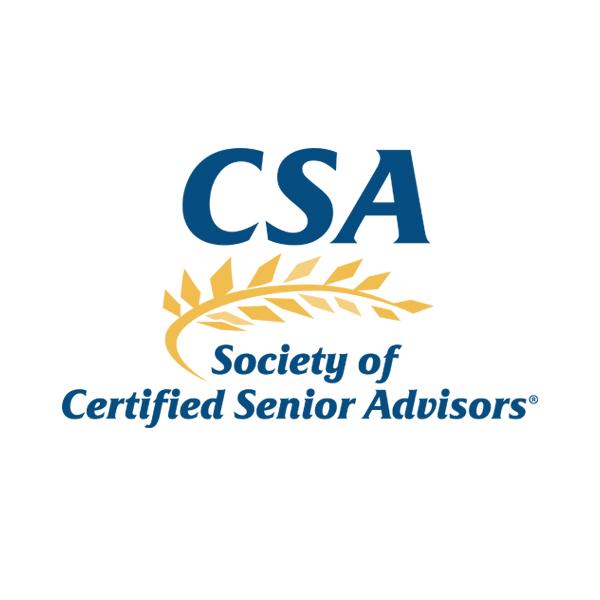 Society of Certified Senior Advisors logo.