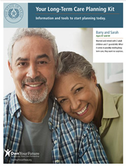 State of Texas Long-Term Care Planning Kit booklet.