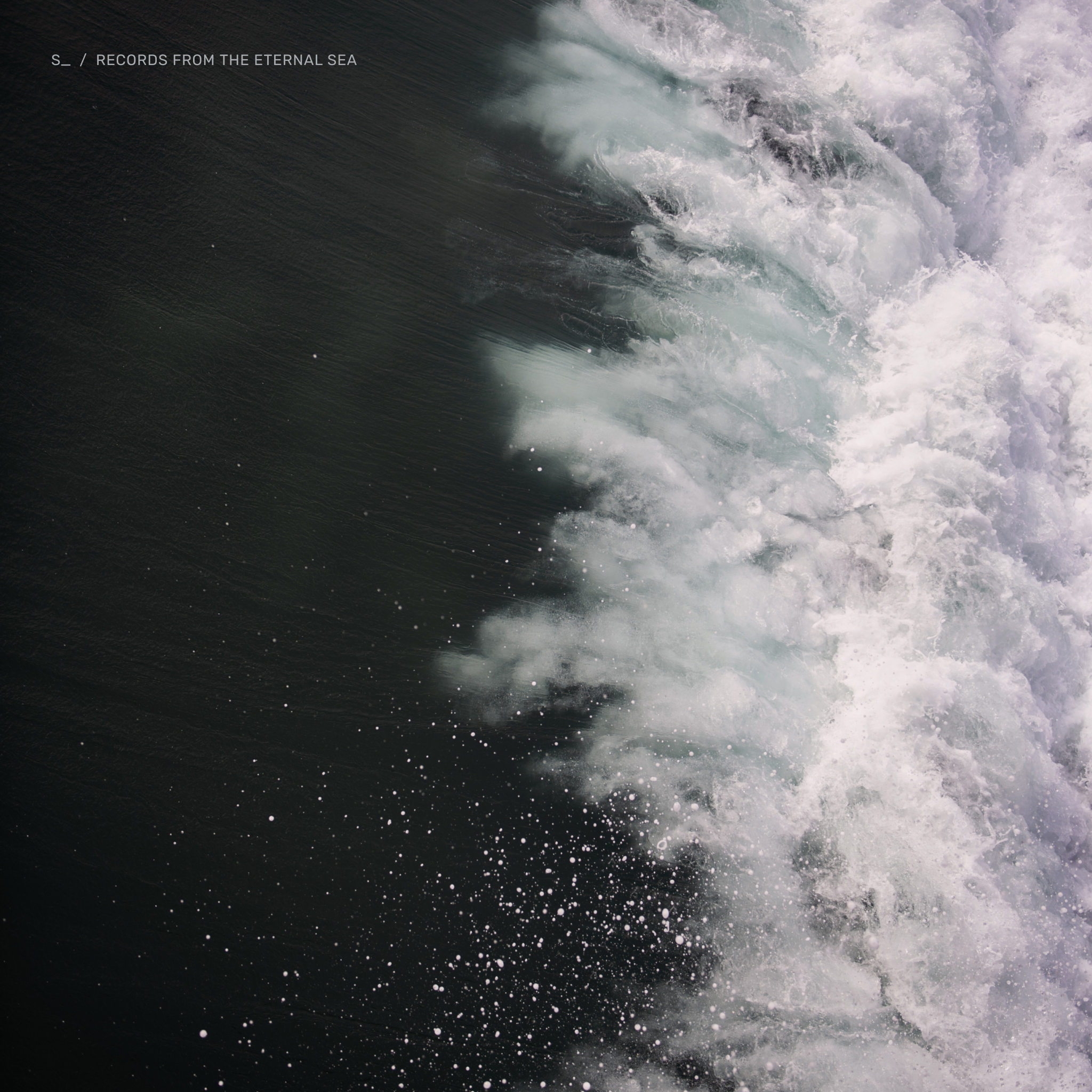 Image of records from the eternal sea album cover.