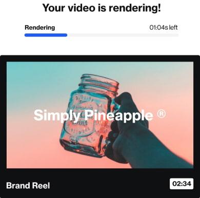 Video rendering