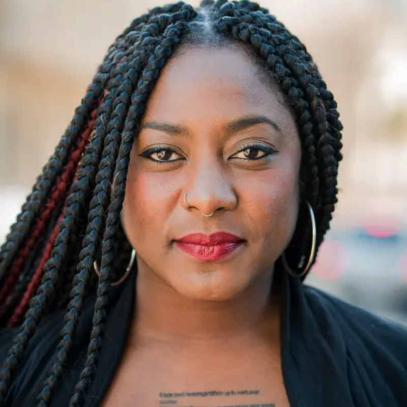Photo of Alicia Garza