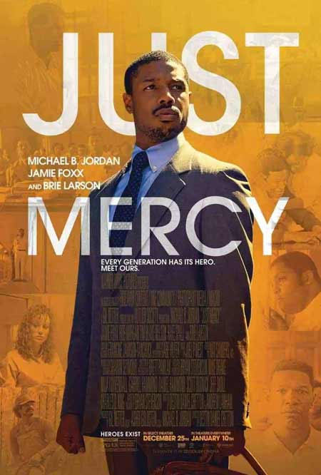 "Cover of the film ""Just Mercy"", directed by Destin Cretton"