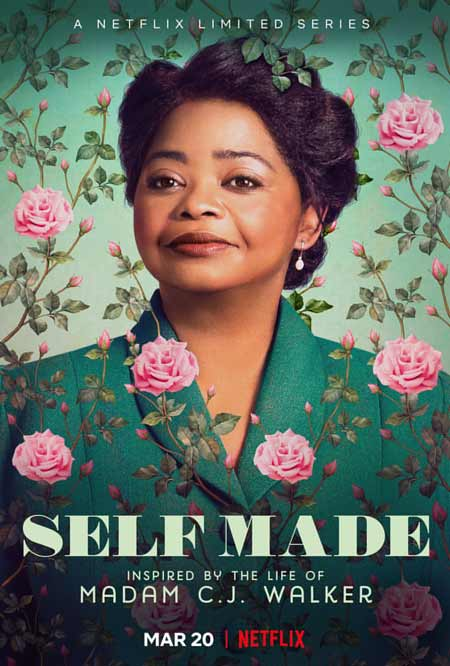 "Cover of the Netflix series ""Self Made"""