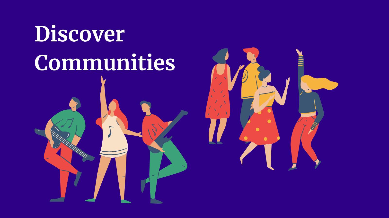 Discover online communities