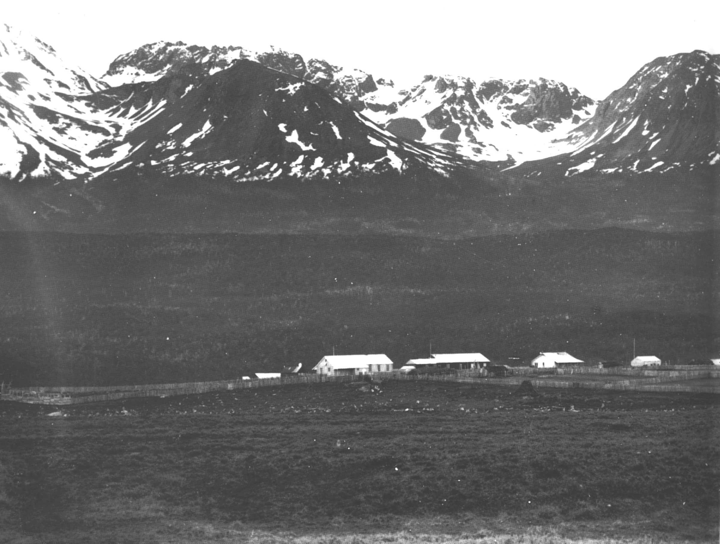 Comienzos de la Misión Anglicana en la peninsula de Ushuaia.