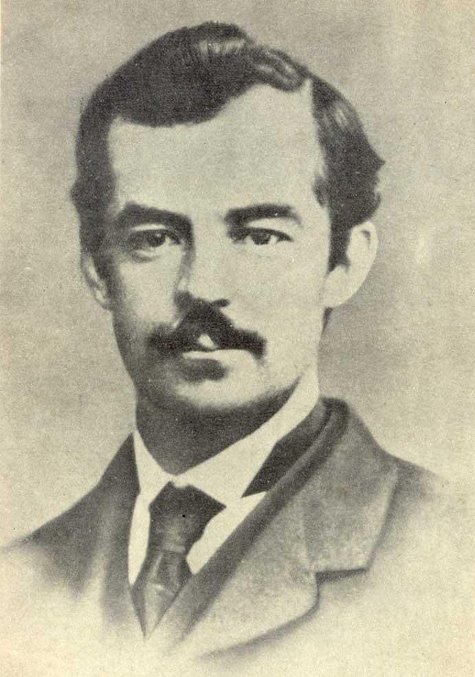 Retrato del primer hombre en vivir en Tierra del Fuego y fundador de la Estancia Harberton, el Reverendo Thomas Bridges.