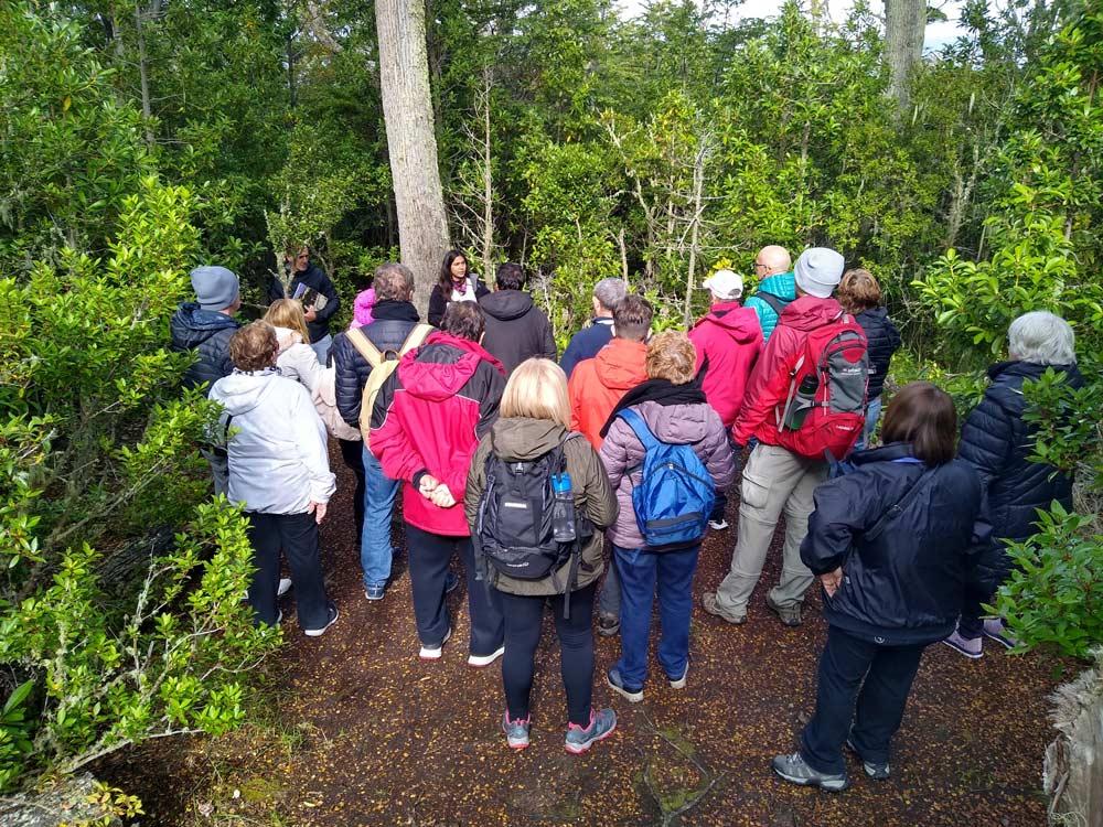 Visita guiada en la Reserva Natural de la Estancia Harberton