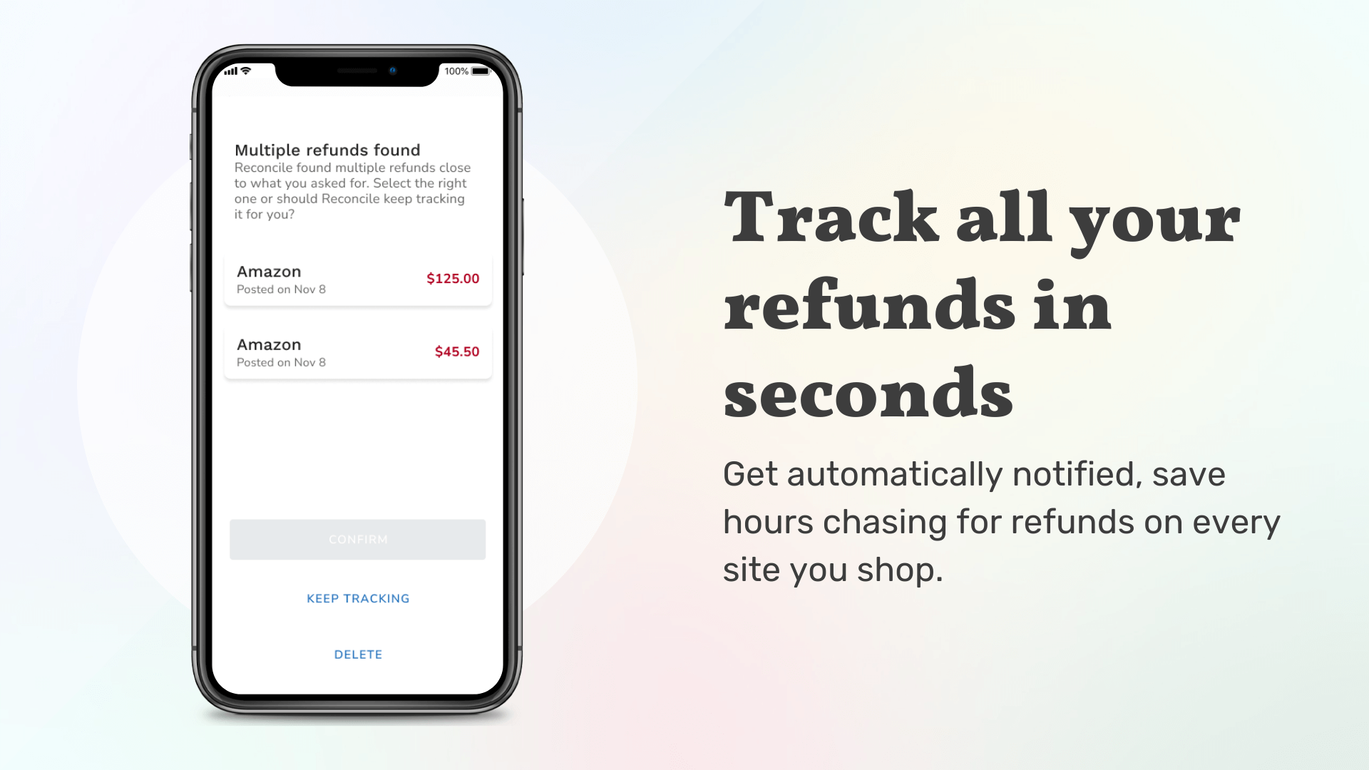 How to get your refund on amazon and track it on Reconcile?