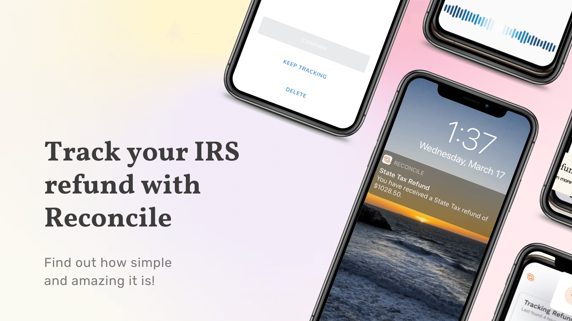 IRS Tax Refund: When will I get it and how to track it with Reconcile?