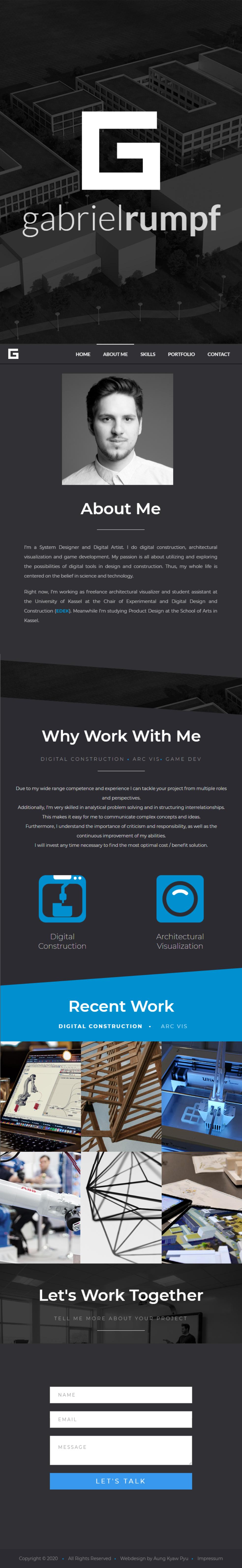 Portfolio Mobile Tablet Rumpf