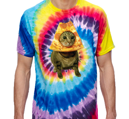 the pizzacat shirt