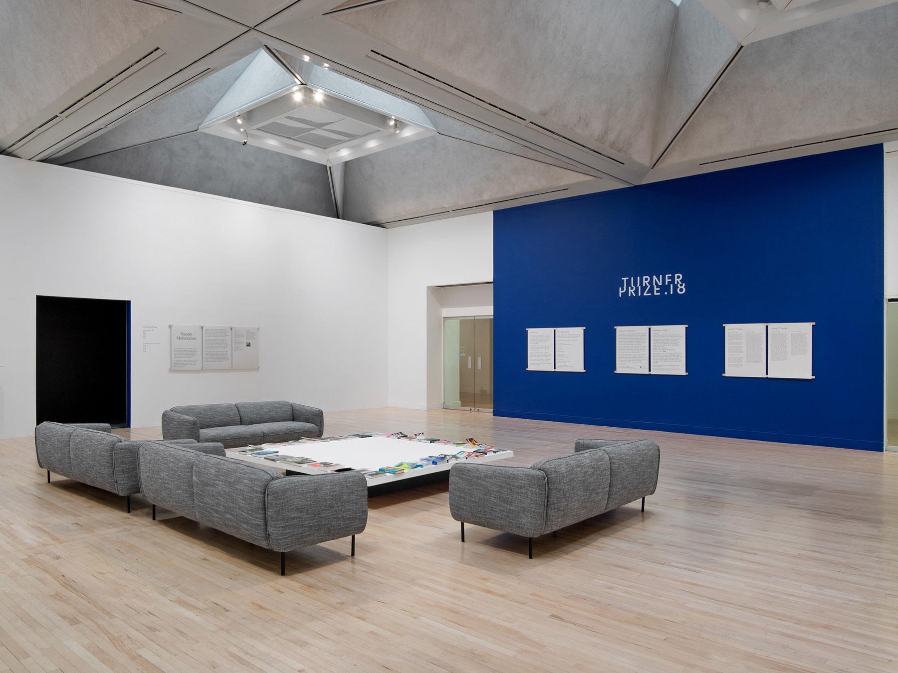 Turner Prize 18 Tate Britain exhibition design