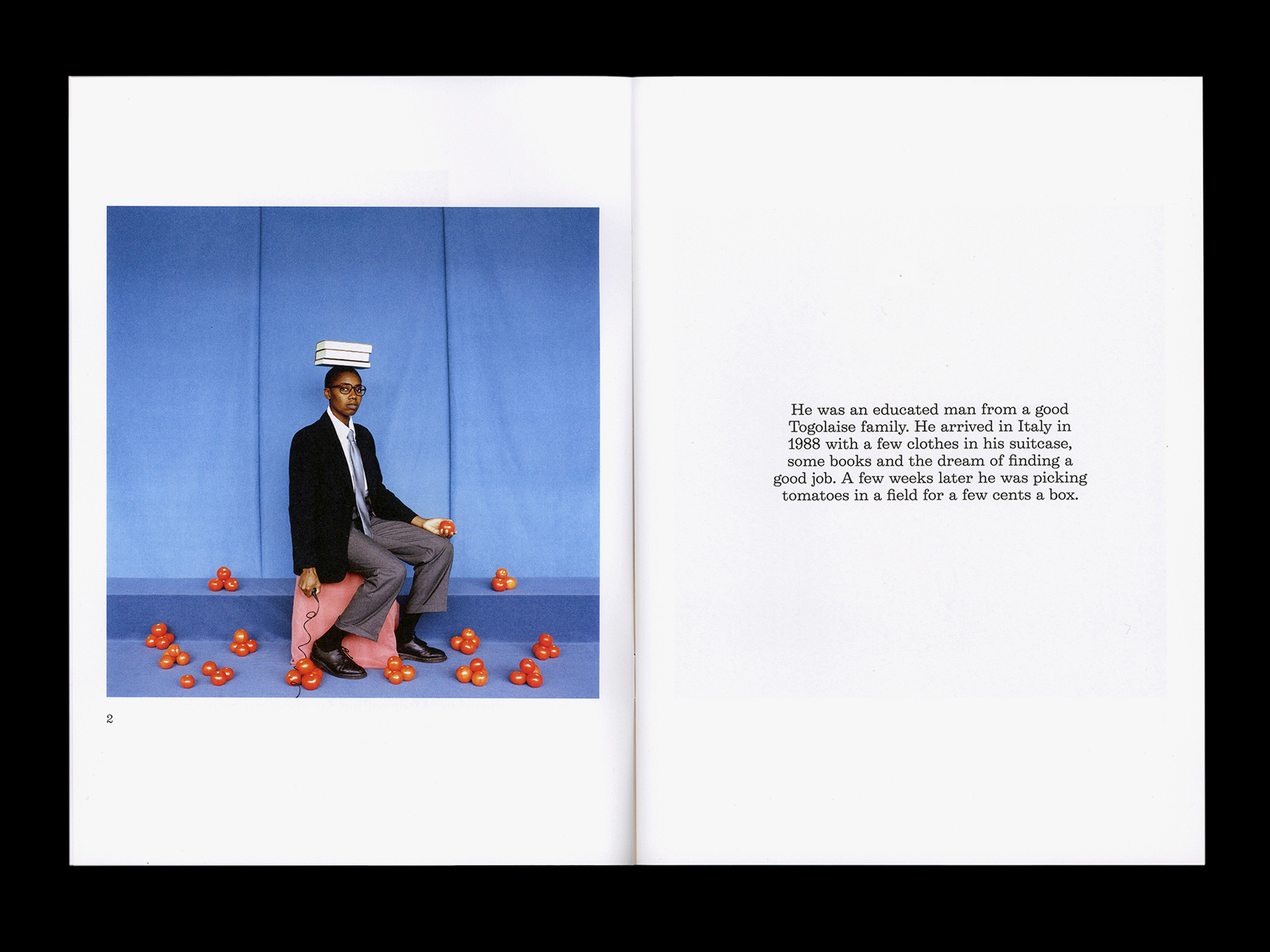 Jerwood Photoworks Award catalogue spread