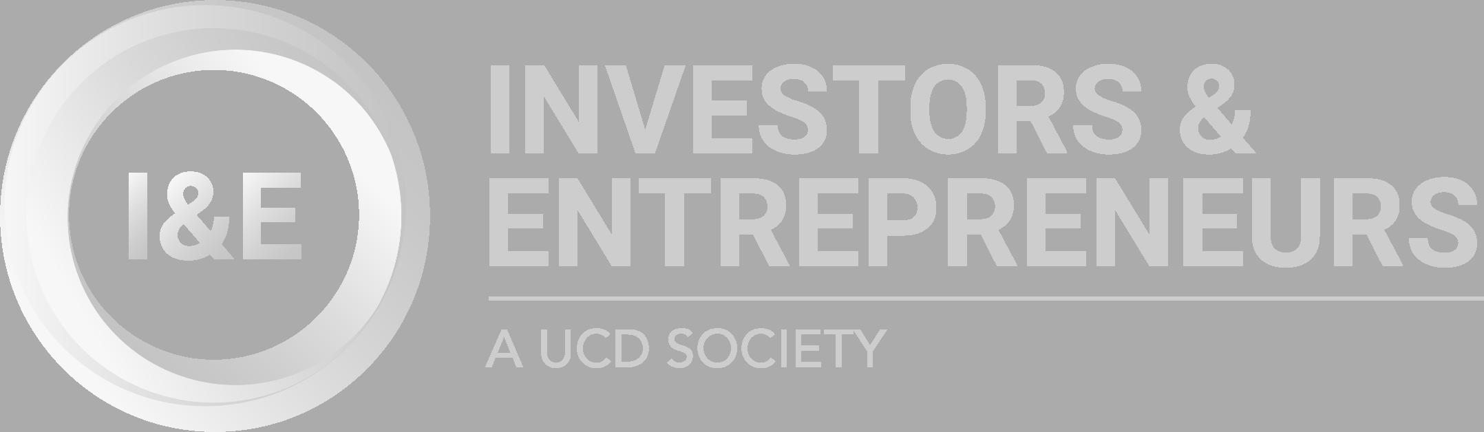 UCD I&E Society's Logo - Landscape Light