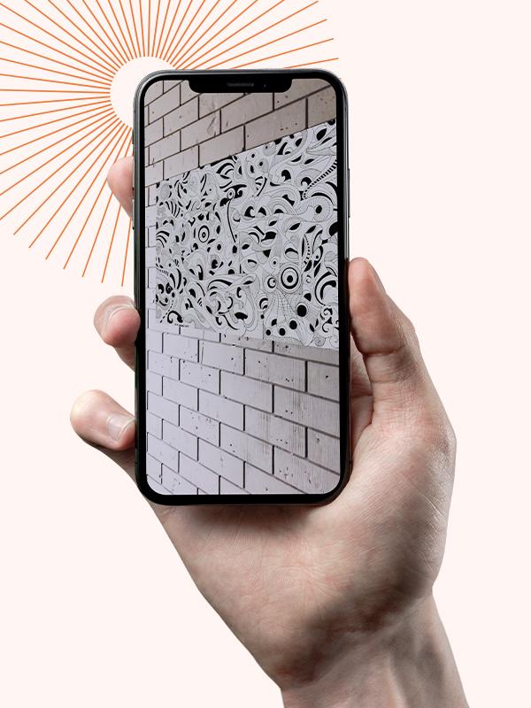Chromomatrix - View art virtually using AR