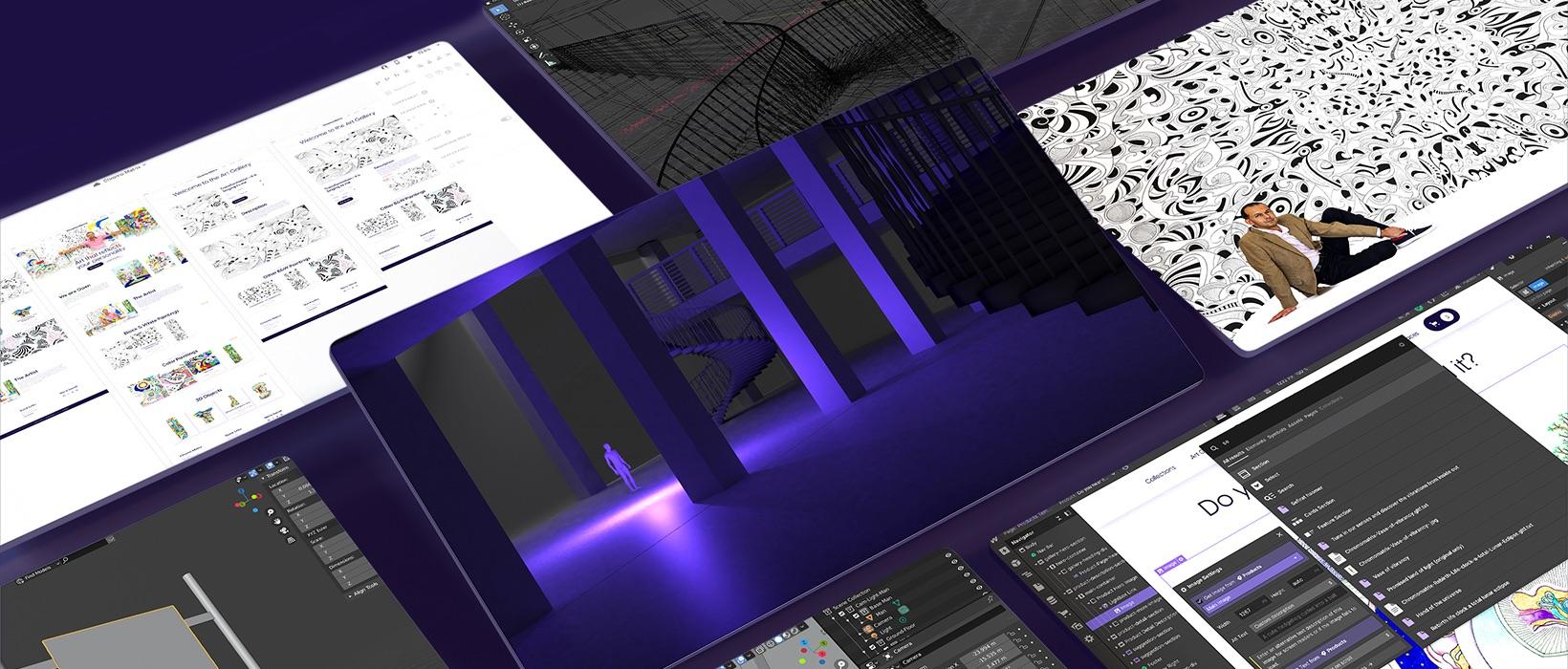 Chromomatrix - Art gallery visual communication