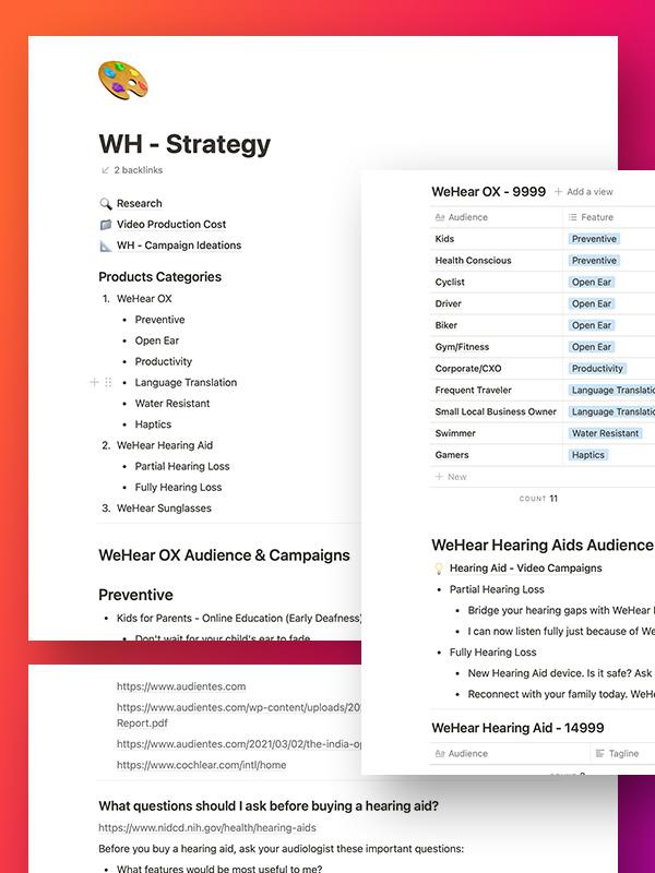 PulsAero brought clarity about WeHear brand communication