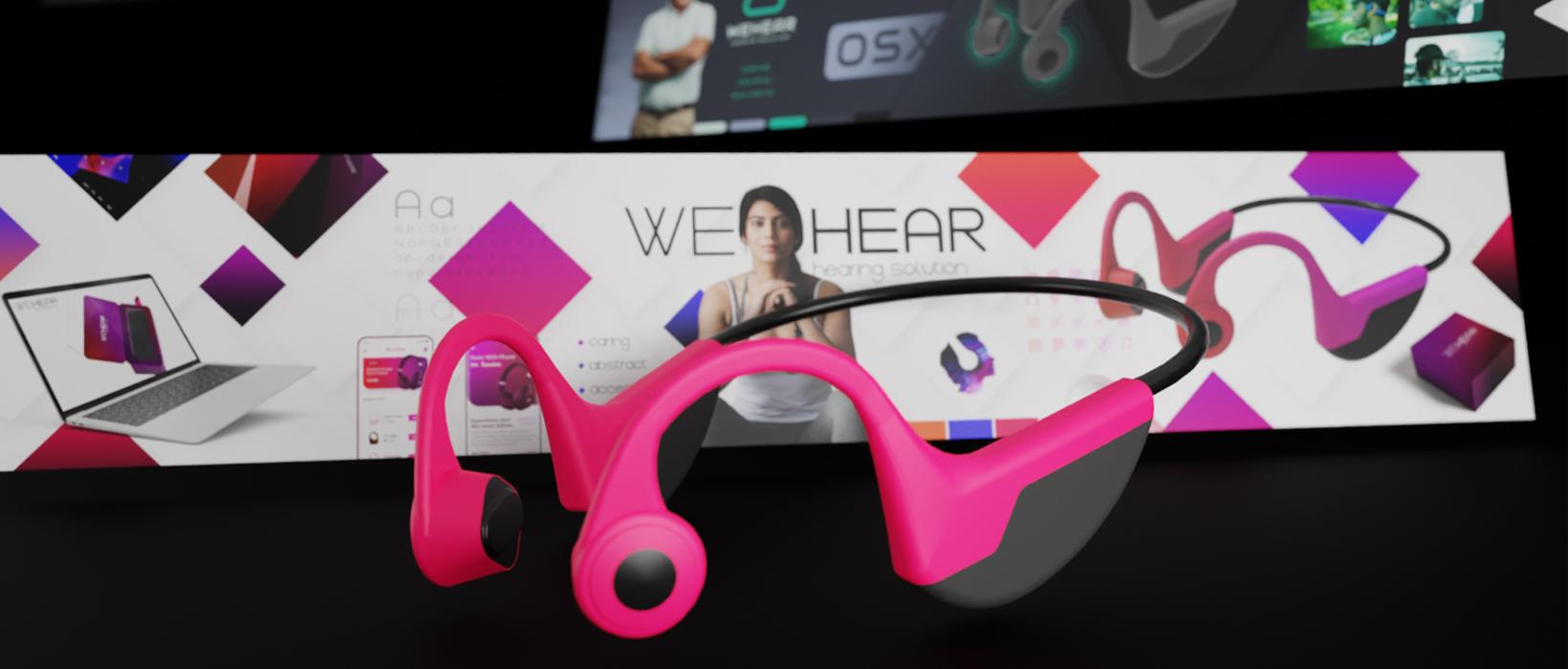 PulsAero developed strategic brand communication for WeHear