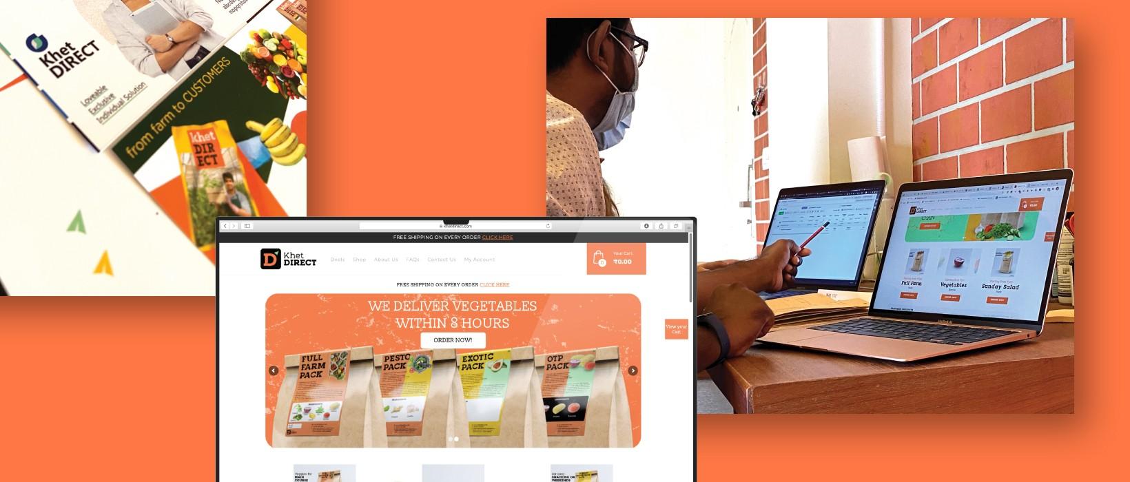 PulsAero built an interactive website for khet direct