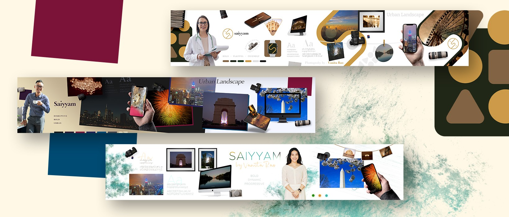 PulsAero designed brand identity stylescapes