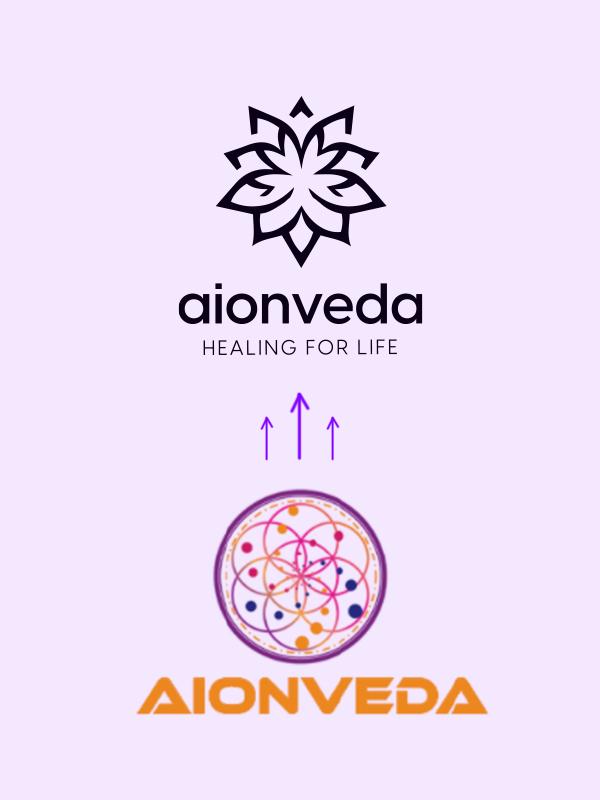 PulsAero created a distinct identity for Aionveda