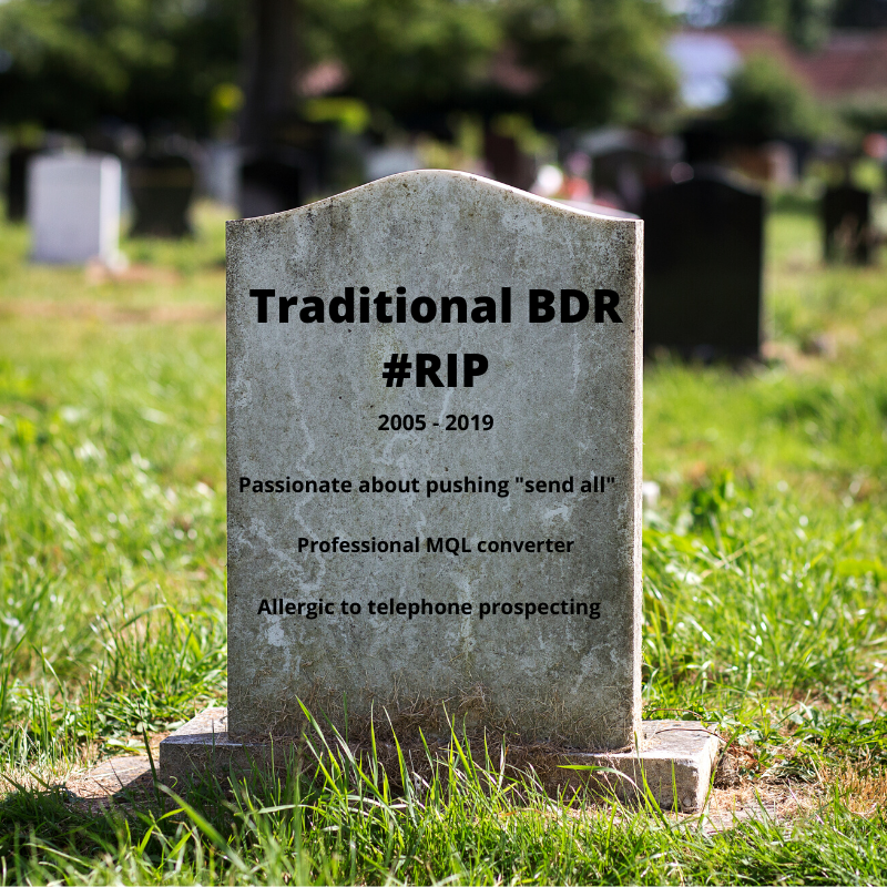 Traditional BDR #RIP