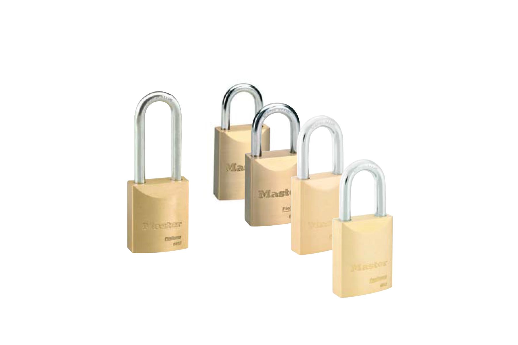 Master Lock Pro Series Solid Brass Padlocks