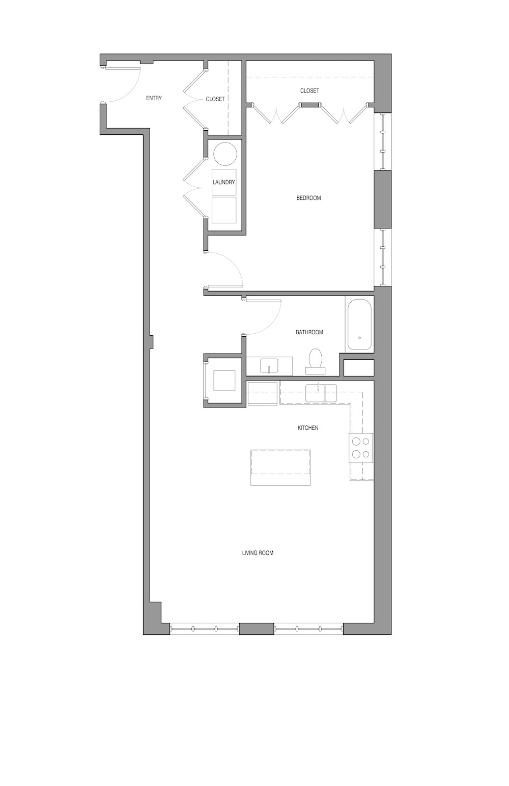Stables Lofts Floor Plan