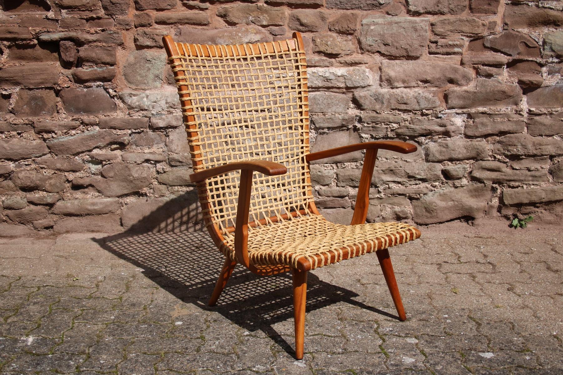 Vintage Rope Lounge Chair