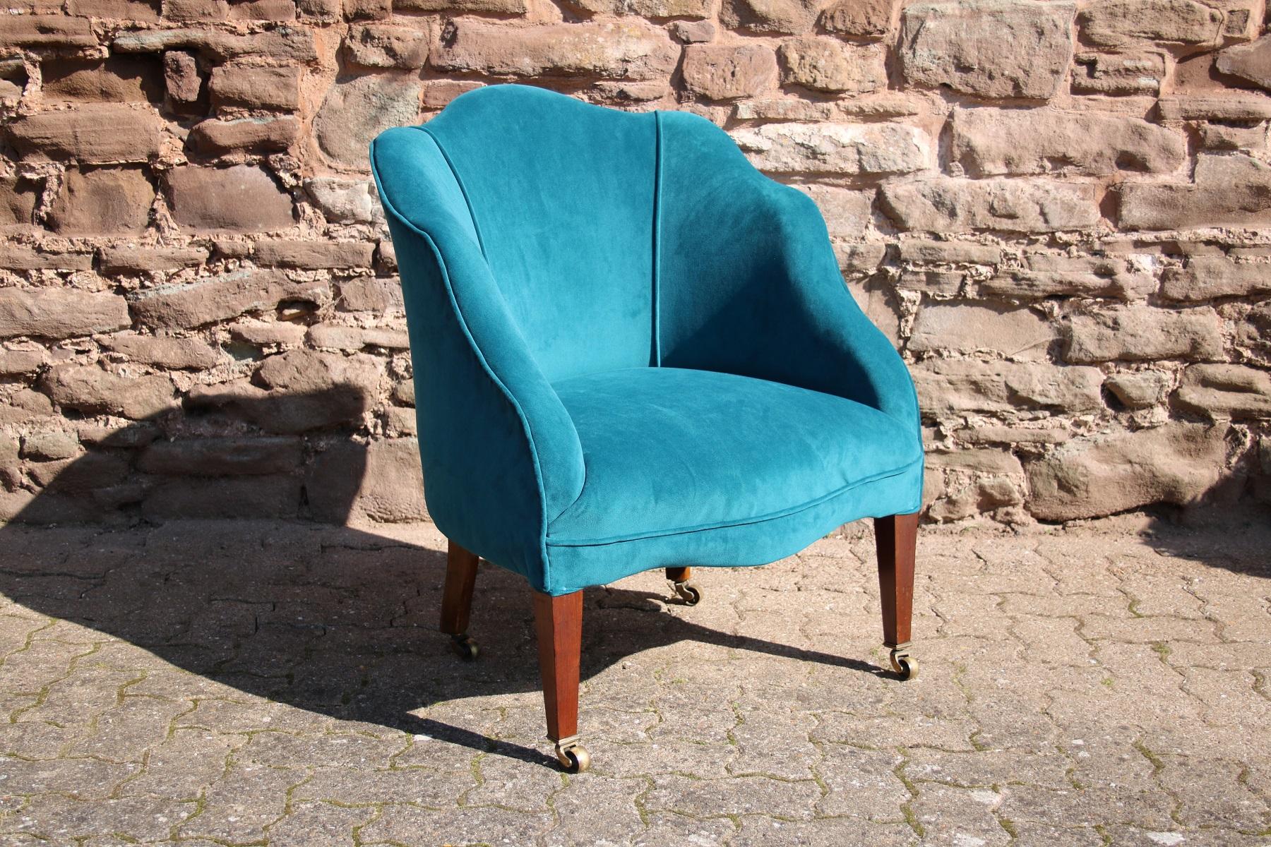 Edwardian Tub Chair By William Barrow