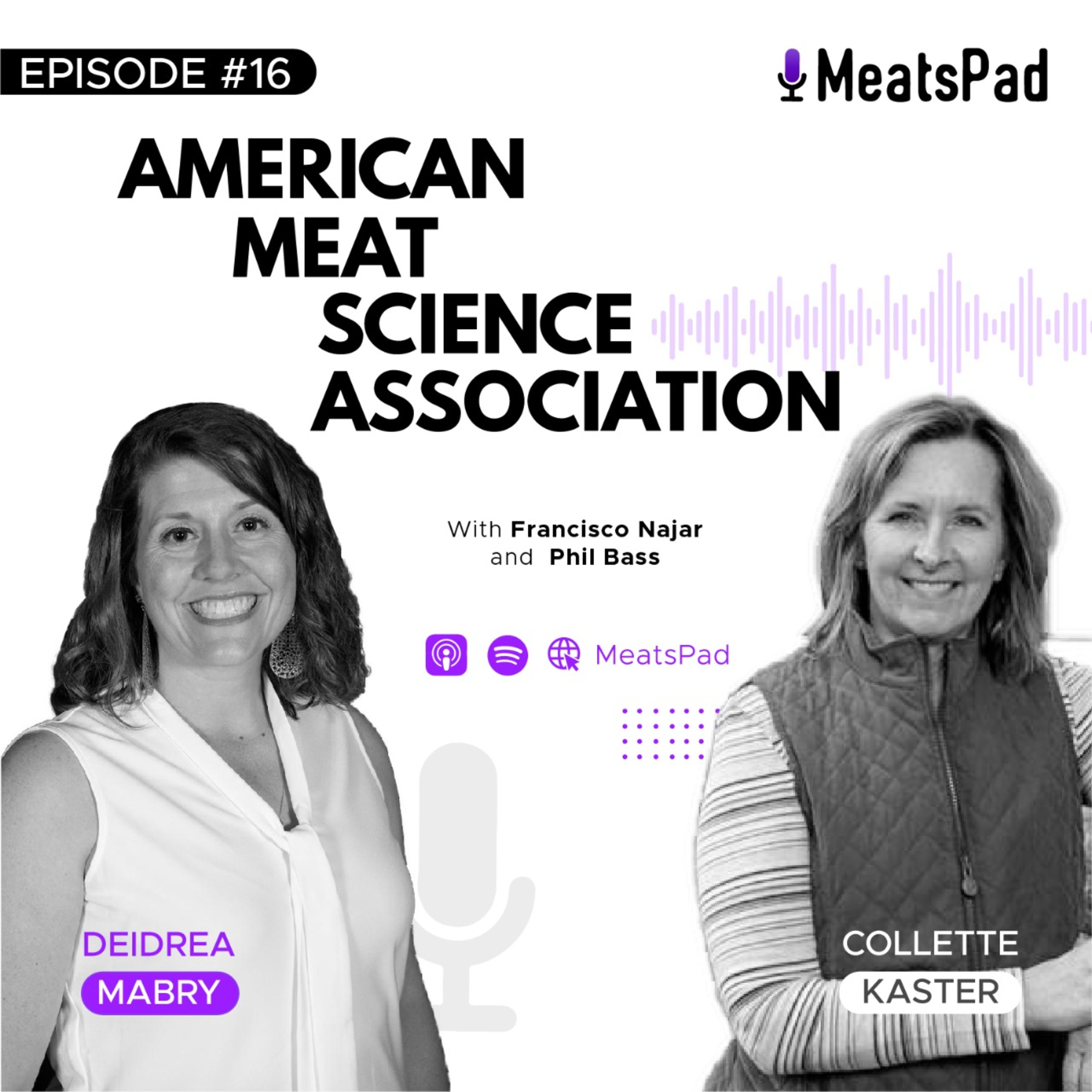 American Meat Science Association - Collette Kaster and Deidrea Mabry