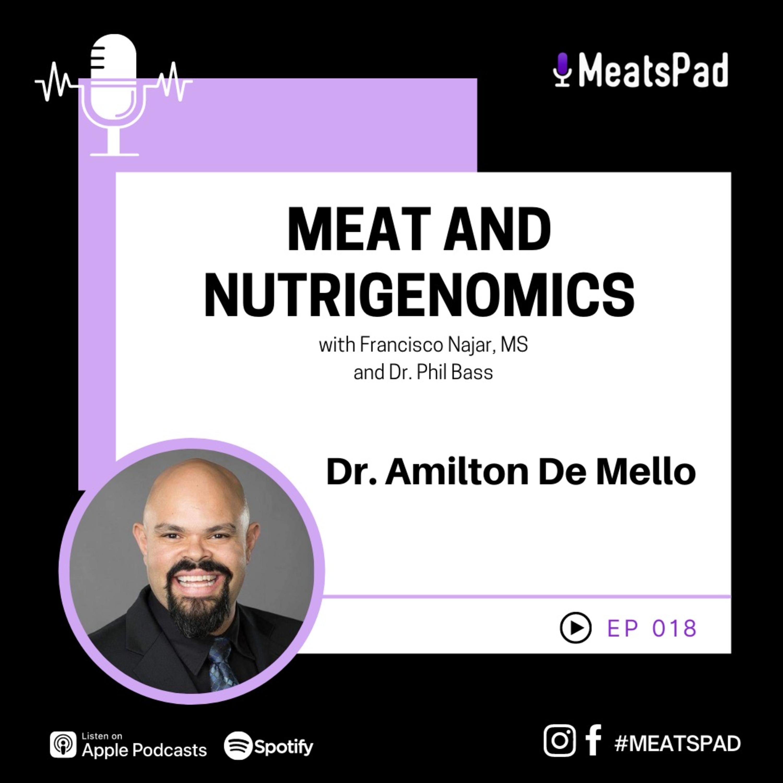 Meat and nutrigenomics - Dr. Amilton De Mello