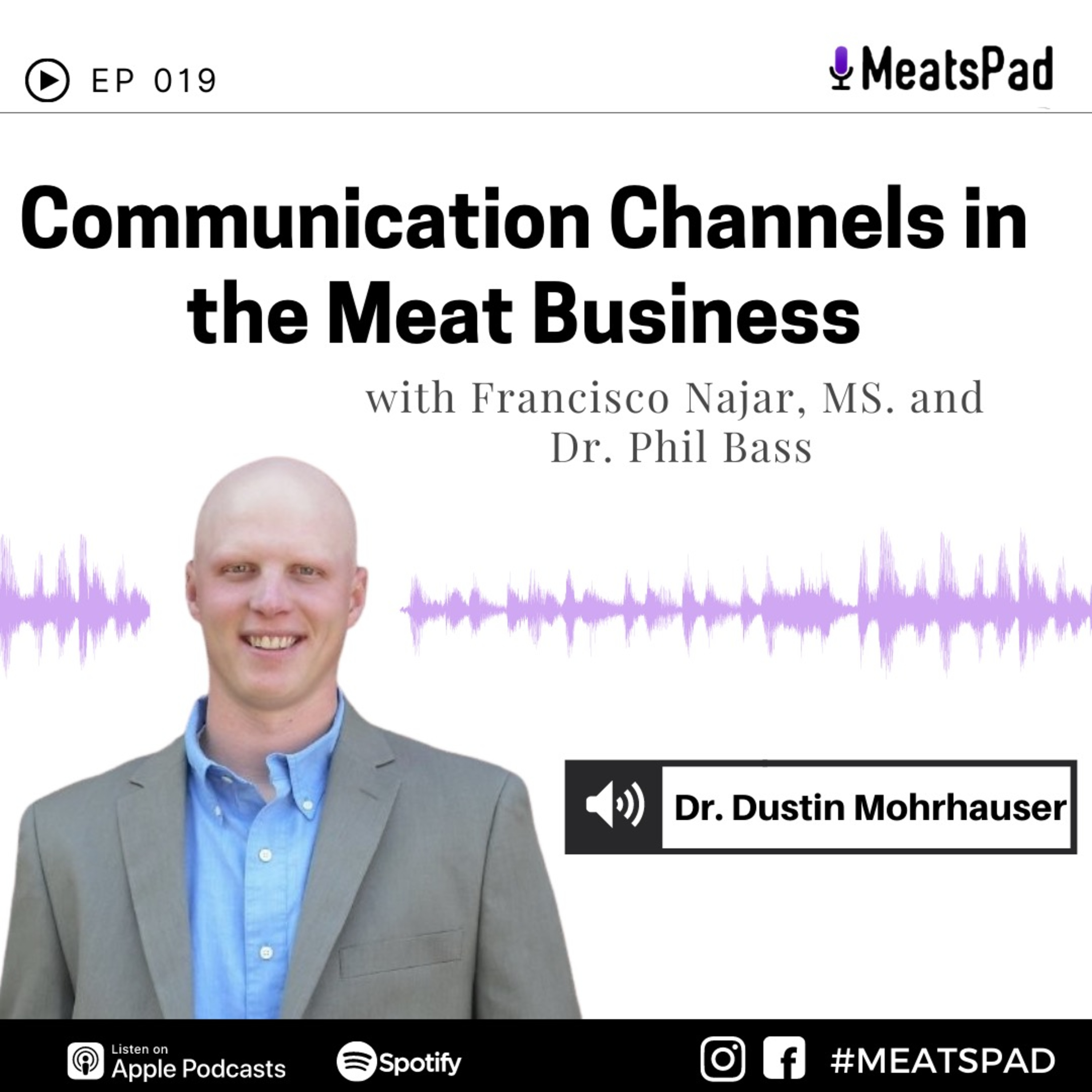 Communication channels in the meat business - Dr. Dustin Mohrhauser