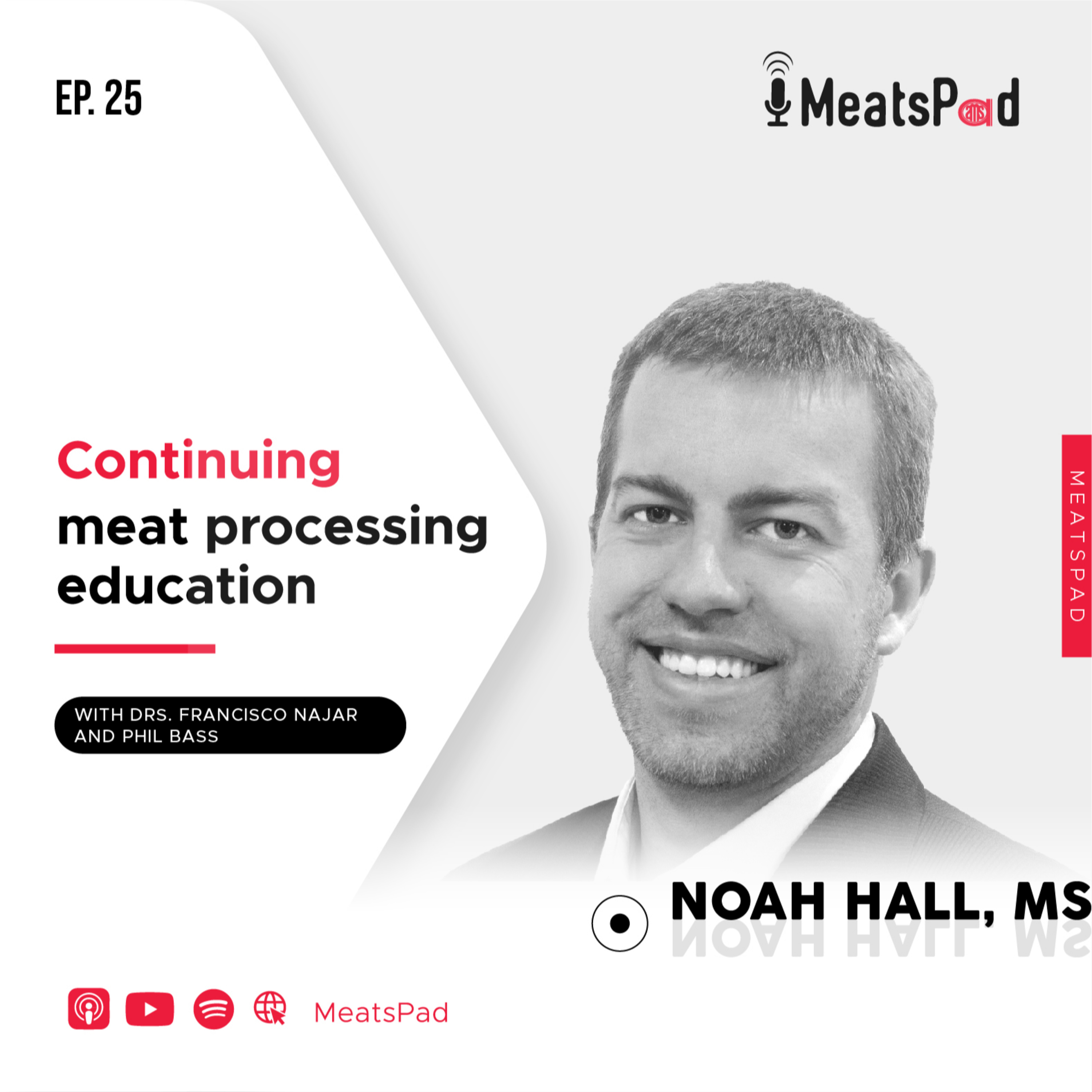 Continuing meat processing education - Noah Hall, MS