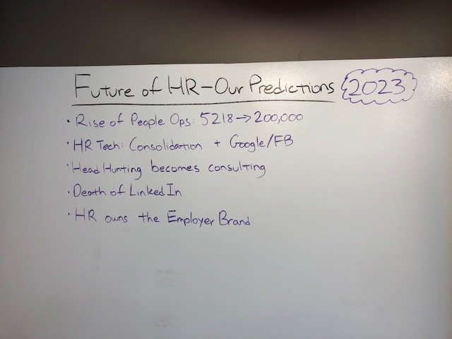 Our HR Predictions for 2023